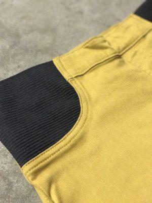 900 Mustard Maternity Skirt